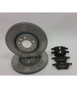 Origineel Brake disc kit 9-3/9-5 OE
