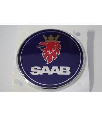 Embleem Saab achter Cabrio/ 5drs, aftermarket