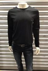 Kitaro Basic T-shirt O-hals Lange Mouw 69161