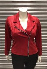Ophilia Ophilia Bikerjasje Carmen 93 Fake Leather Red
