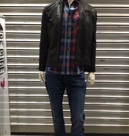Only & Sons Only & Sons Leatherlook Jas