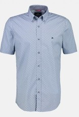 Lerros Lerros Overhemd Korte Mouwen 2122136