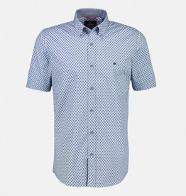 Lerros Lerros Overhemd Korte Mouwen