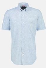 Lerros Lerros Overhemd Korte Mouw 2122165