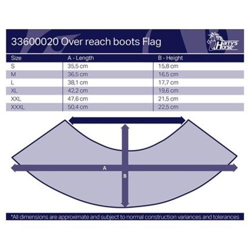 Harry's Horse Springschoenen Flag
