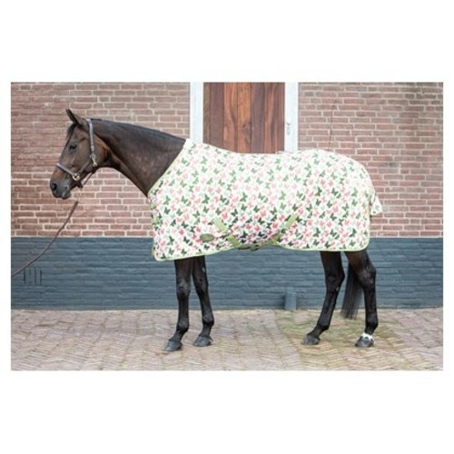 Harry's Horse Vliegendeken mesh standaard met singels Butterfly