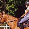 Een goede houding is niet alleen belangrijk tijdens het paardrijden