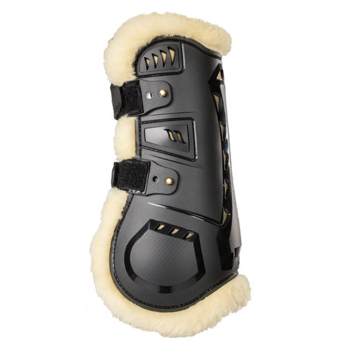 Back on Track AirFlow Tendon Boots met Imitatiebontb