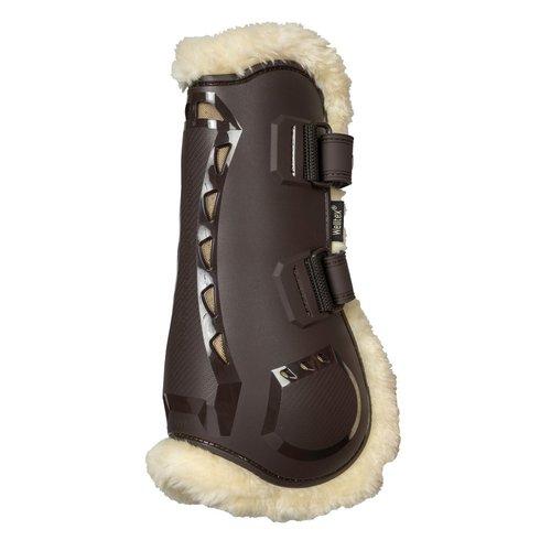 Back on Track AirFlow Tendon Boots met imitatiebont