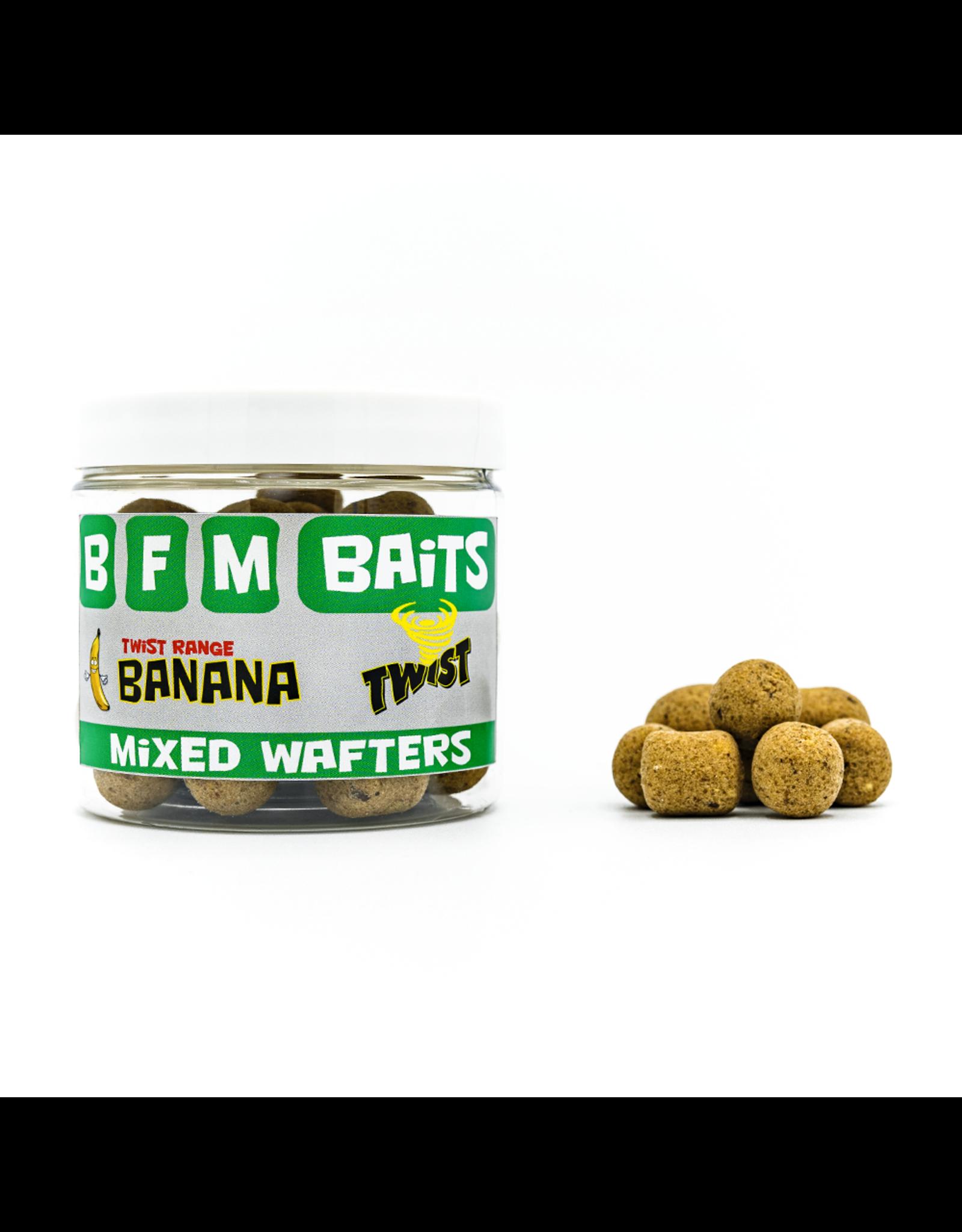 BFM Baits Banana Twist - Mixed Wafters