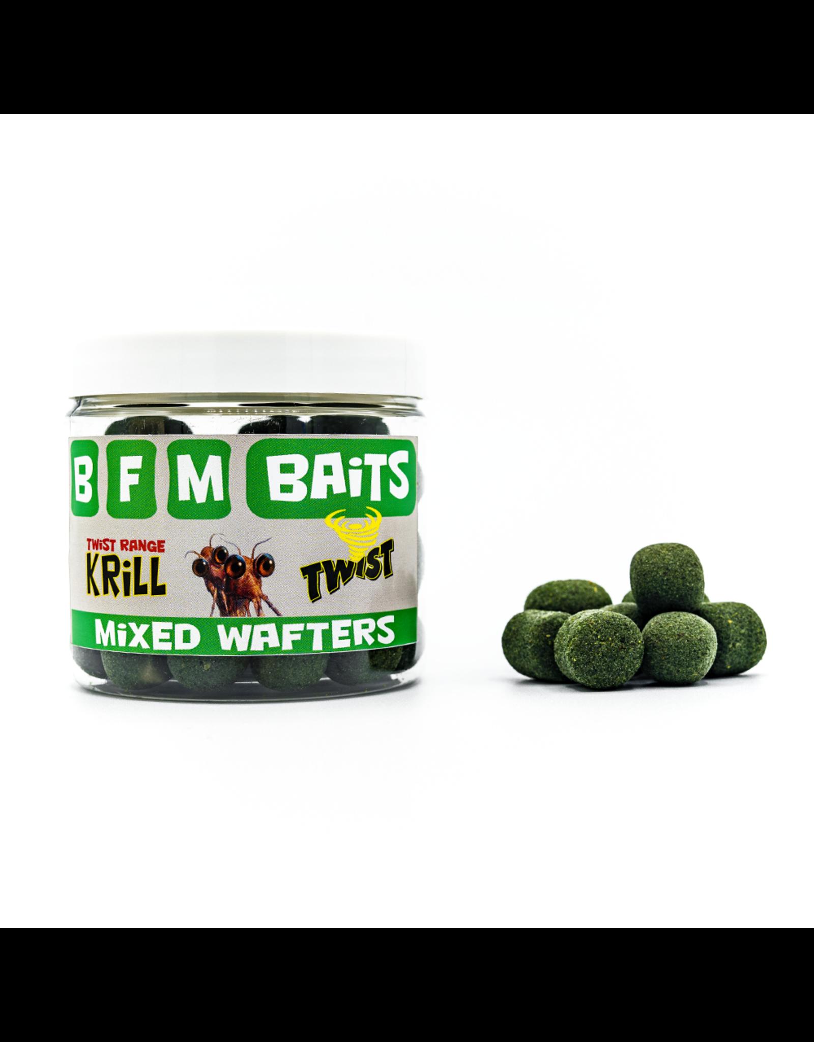BFM Baits Krill Twist - Mixed Wafters