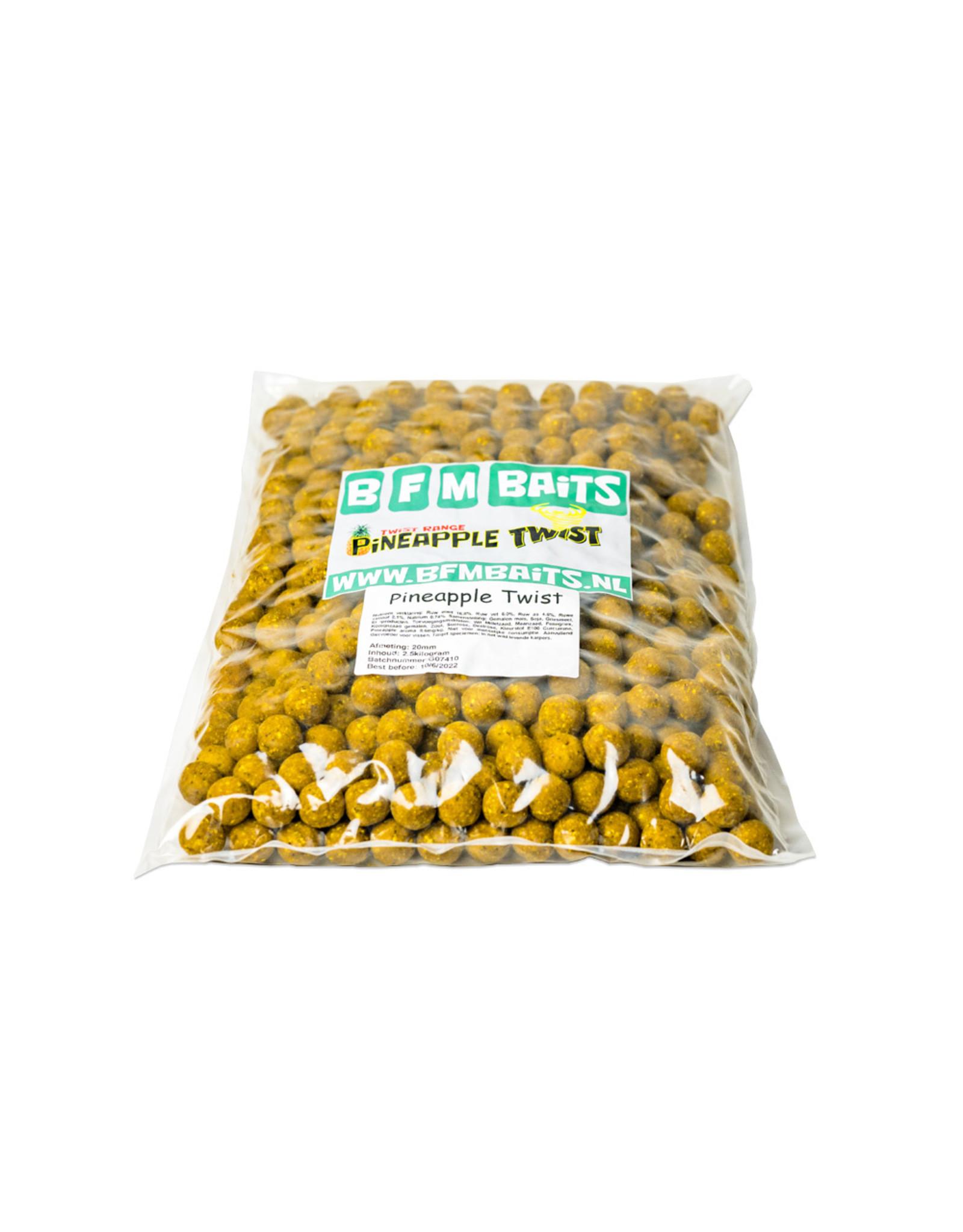 BFM Baits Pineapple Twist - Bulk deal