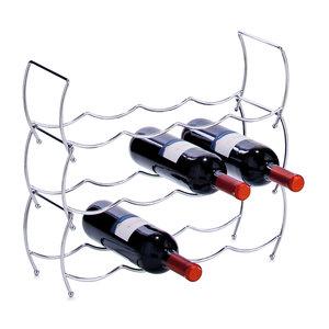 Wijnrek stapelbaar metaal Zeller