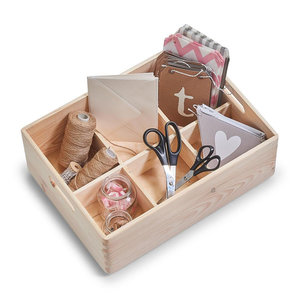 Houten opbergbox 40 x 30 x 15 cm