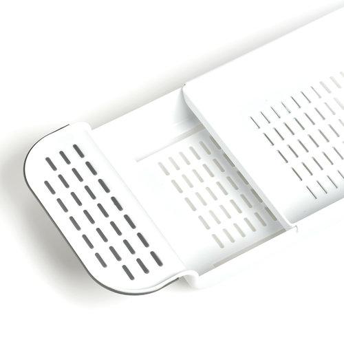 Zeller Present Badplank uitschuifbaar Zeller | kunststof met anti-slip