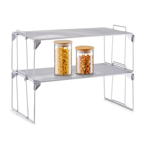 Keukenkast organizer Zeller Present | stapelbaar en inklapbaar