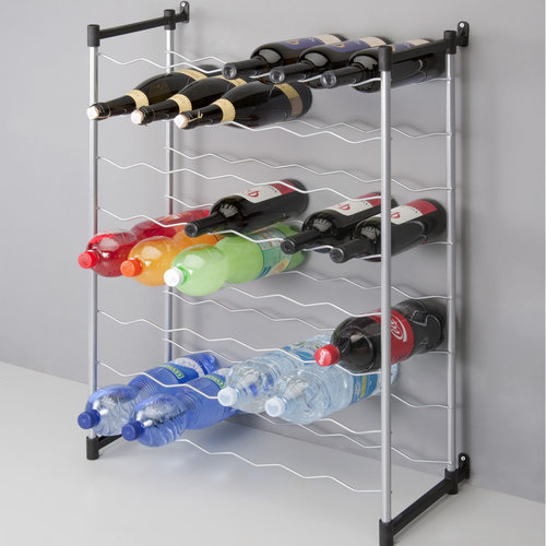 Tomado | Metaltex Flessenrek 48 flessen muurbevestiging van Metaltex