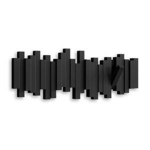 Design kapstok uitklapbare haken UMBRA