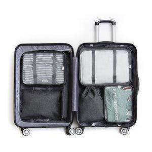 Packing cubes koffer 6 stuks