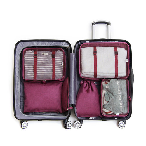Packing cubes koffer 6 stuks | Clever travel