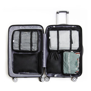 Clever travel Packing cubes koffer 6 stuks | Clever travel