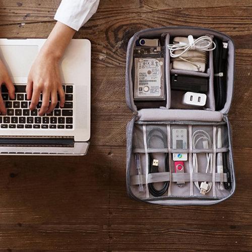 Clever travel Kabel organizer reistasje   Clever Travel