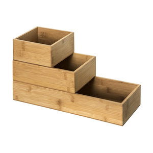 Ladebakjes hout 3-delig Five®