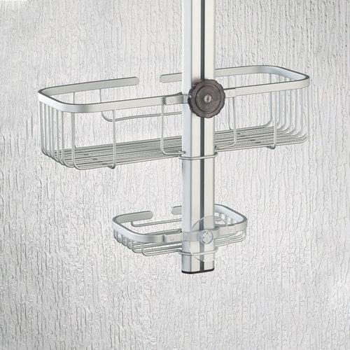Doucherek hangend iDesign - Metro   Verstelbaar, met 2 etages en zeepbakje