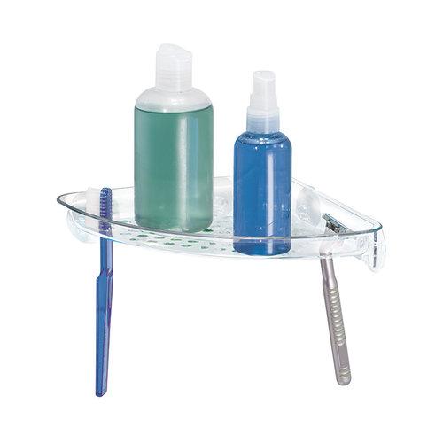 Douche plankje hoek iDesign   scheermes en tandenborstelhouder