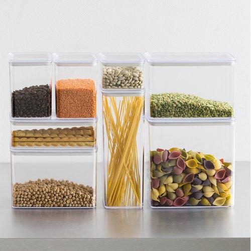 Voorraadpotten luchtdicht en stapelbaar Five®   10 maten