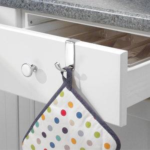 iDesign Theedoek haakjes over keukendeur iDesign | 2 varianten