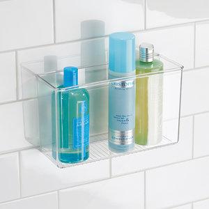 Badkamerbakje zelfklevend transparant iDesign