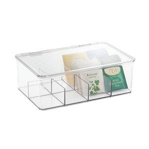 Theedoos transparant iDesign - Kitchen Binz