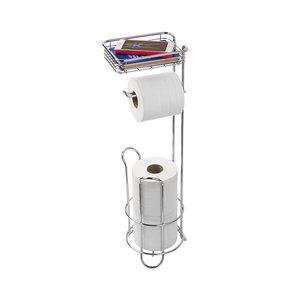 Toiletrolhouder staand iDesign - Classico   met opbergbakje