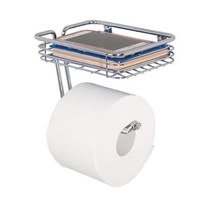 Toiletrolhouder met bakje iDesign - Classico