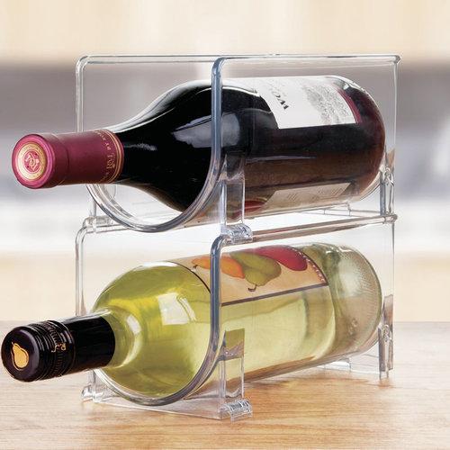 iDesign Flessenhouder koelkast stapelbaar iDesign - Fridge Binz