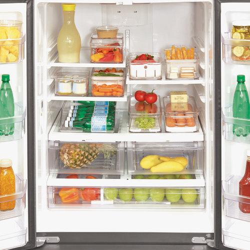 Flessenhouder koelkast iDesign - Crisp | stapelbaar