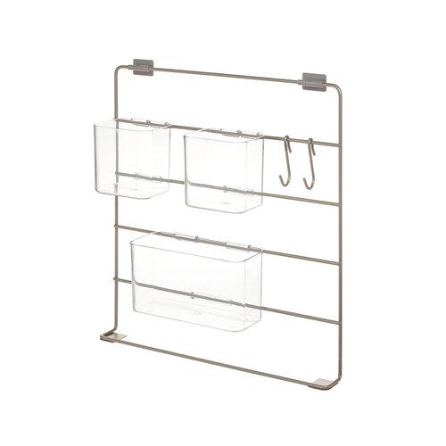 iDesign Gootsteenkast organizer iDesign | incl. 3 bakjes en 2 ophanghaken, modulair