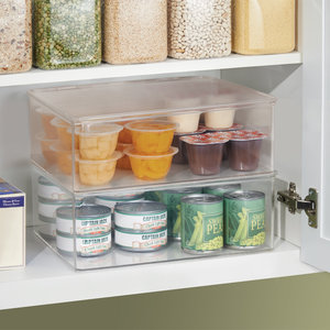Opbergbox met deksel iDesign - Kitchen Binz