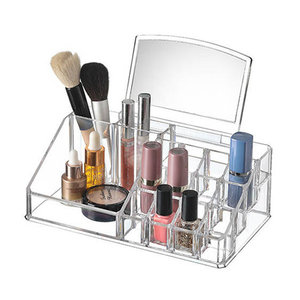Make-up organizer met spiegel