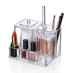 Make-up organizer transparant