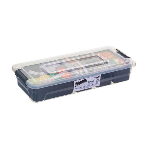 Opbergbox met uitneembare bakjes Five® | 6 verschillende maten
