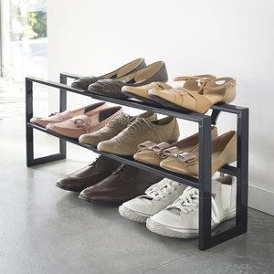 Uitschuifbaar schoenenrek 38 - 70 cm Yamazaki