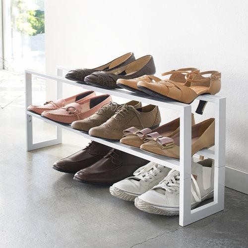 Yamazaki Uitschuifbaar schoenenrek 38 - 70cm Yamazaki