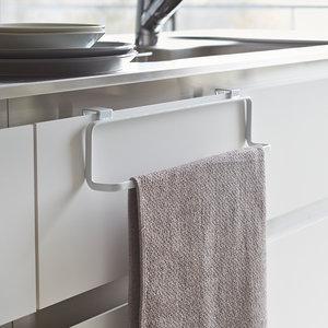 Handdoekenrek keuken kastdeurtje Yamazaki