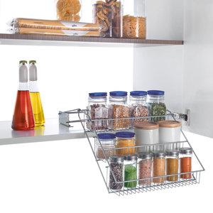 Kruidenrek uittrekbaar Metaltex - Smart Kitchen