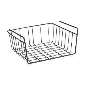 Hangmand zwart badkamer Tomado | Metaltex