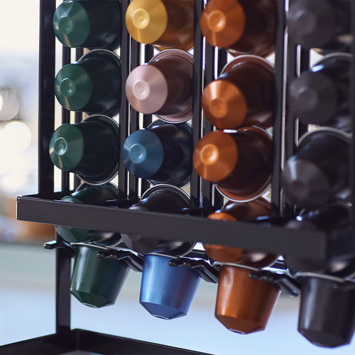 Koffiecapsulehouder 40 cups Yamazaki