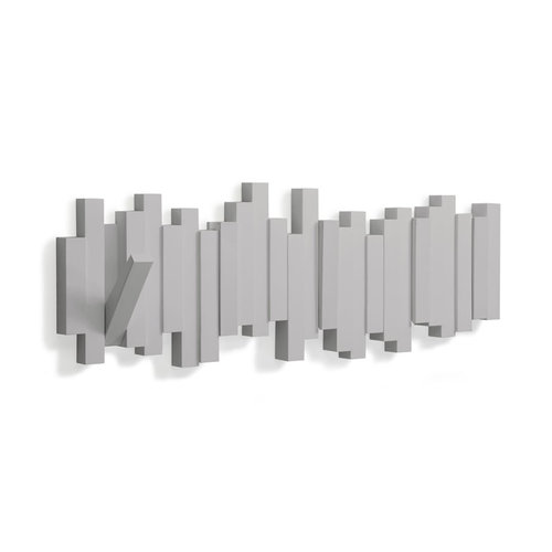 UMBRA Design kapstok uitklapbare haken UMBRA | 5 uitklapbare haken