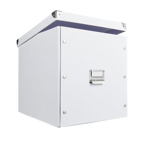 Opbergbox met deksel wit Zeller Present